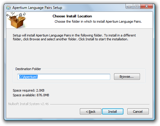 Apertium Language Pairs Installer 3.png