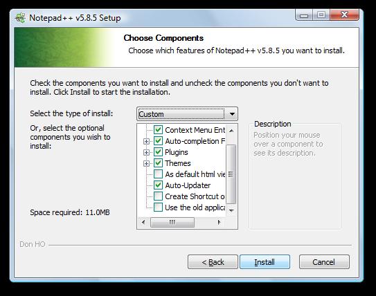 install notepad++